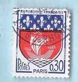 Used France Postage Stamp %281965%29 30c