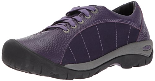 KEEN Women's Presidio-w Fashion Sneaker, Purple Plumeria/Montana Grape, 10.5 M US