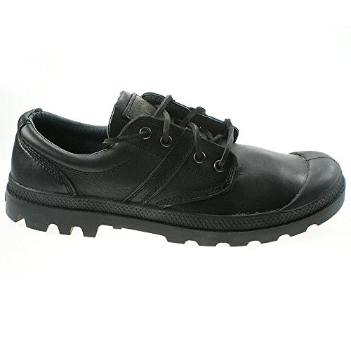 Palladium Pallabrouse Ox Lea 02534-001 Schwarz