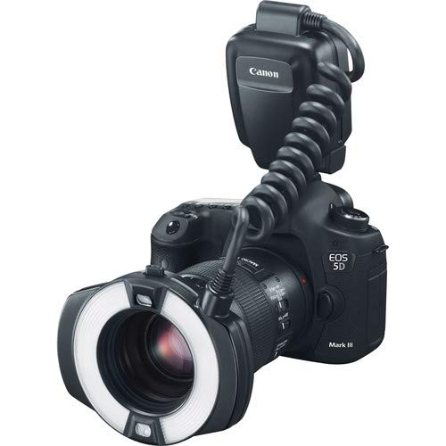 Canon MR-14EX II Macro Ring Lite Bundle with AA Batteries & Charger + Steady Grip Tripod by Canon (Image #5)
