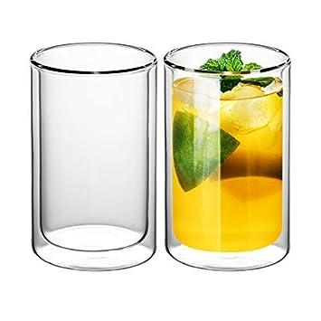 7bec5bbb034aee GAIWAN - Verres à thé double paroi - Lot de 2 verres simples style ...