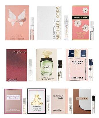10 Women's Designer Fragrance Vial Sample (Fragrance Vial)