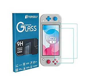 TERSELY [2 Pack] Screen Protector Glass for Nintendo Switch Lite, Premium 9H Tempered Glass Screen Protector for Nintendo Switch Lite 2019