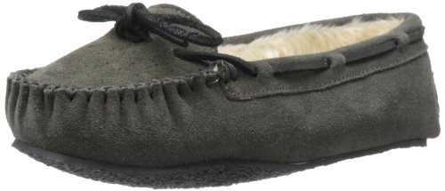 Minnetonka Women's Cally Slipper,Grey,9 M US