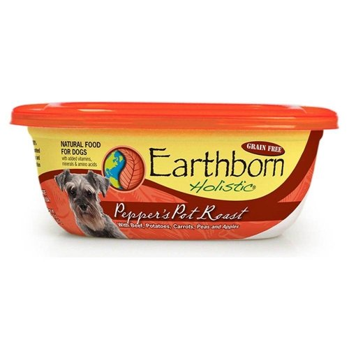 Earthborn Holistic Pepper's Beef Pot Roast Dog 9oz Case 8