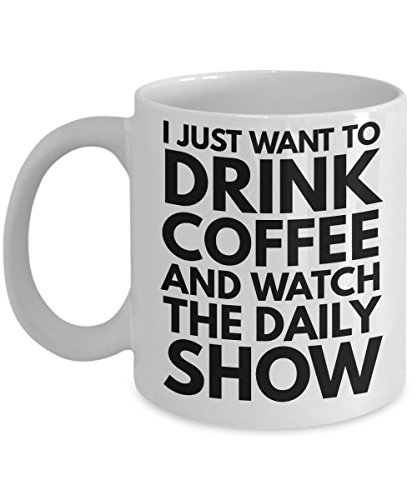 Daily Show Mug - The Daily Show Jon Stewart Coffee Mug (Contact The Daily Show With Jon Stewart)
