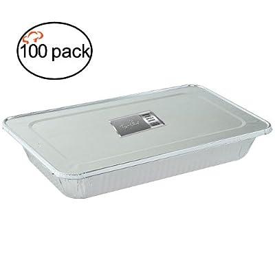TigerChef Durable Full Size Deep Aluminum Foil Steam Table Pans