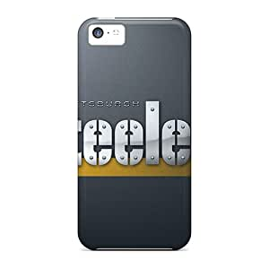 Hot Mof7121HRxb Cases Covers Protector For Iphone 5c- Pittsburgh Steelers