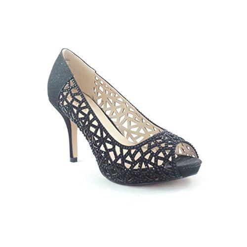 Lotus Flink - Zapatos Mujer Black (Black/Diamante)