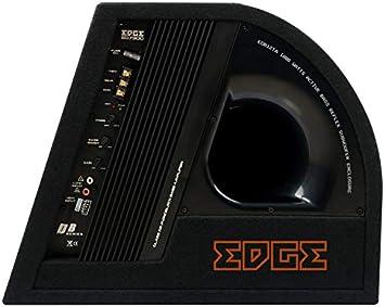 Inex Ecke 12in 1800w Max Doppel Aktiv Auto Audio Bass Box Subwoofer Gehäuse Auto