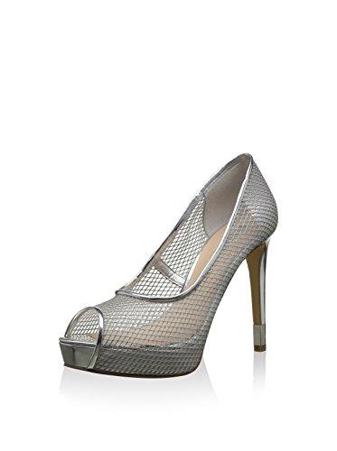 Zapatos Guess Plata 39 EU Toe Peep 8dd6w4q