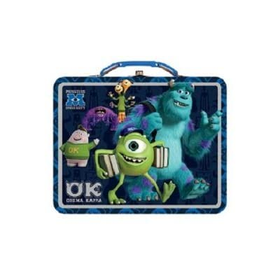 Disney- Monsters University, OK OOZMA KAPPA - Tin Carry All -Tin Lunch Box: Kitchen & Dining