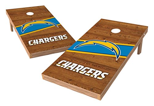 PROLINE NFL Los Angeles Chargers 2'x4' Cornhole Board Set - Logo Design by PROLINE