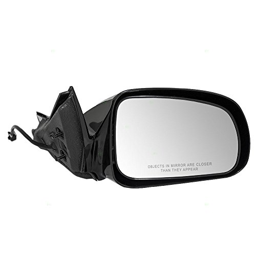 Passengers Power Side View Mirror Ready-to-Paint Replacement for Pontiac 15796389 - Grand Prix Power Mirror Pontiac