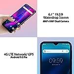 Smartphone-Offerta-del-Giorno-4G-Blackview-A60-Pro-Telefono-Cellulare-3GB-RAM-16GB-ROM-256GB-Espandibili-61-HD-Waterdrop-Schermo-Batteria-4080mAh-Dual-SIM-Android-9-Cellulari-Offerte-Azzurro