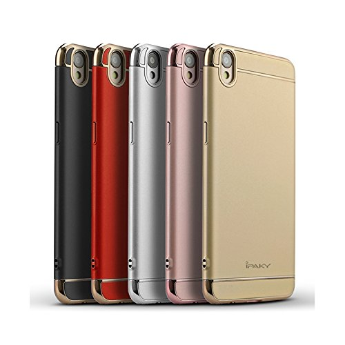 the latest 21543 3cd9e Oppo F1 Plus Case Cover Fairbunny iPaky Chrome 3 Piece Hybrid Protective  Back Case Cover for Oppo F1 Plus- BLACK