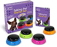 Hunger for Words Conjunto de iniciante para animais de estimação, botões graváveis para cães, botões de cachor
