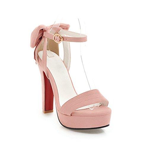 Señorita Pajarita Calzado Taiwán Alto Impermeable Alta Con Tacón Rosa Chicas Sandalias GAOLIM Zapatos Femenino Verano De Princesa 15qdA4Sn