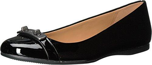 Coach Women's Oswald Black/Black Patent/Patent Shoe