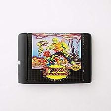 Toxic Crusaders 16 bit SEGA MD Game Card For Sega Mega Drive For Genesis ,Sega Genniess-Sega Ninento,16 bit MD Game Card