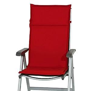 4Cojines Respaldo Alto Cuba 50234–310En Uni Rojo 121cm de largo (sin Sillón)