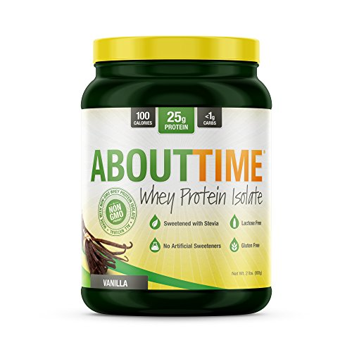 Sdc Nutrition About Time Whey Protein Isolate  Vanilla  2 Pound