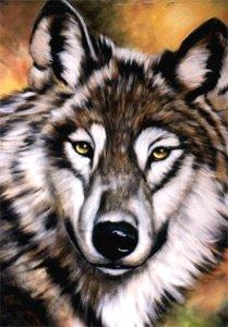 bob-ross-wolf-wildlife-instructional-booklet