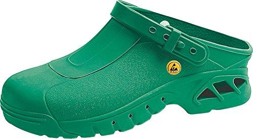 Abeba , Herren Sicherheitsschuhe grün grün 45
