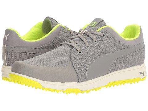 (プーマ) PUMA メンズゴルフシューズ靴 Grip Sport [並行輸入品] B06XK822RC 26.5 cm D - M Drizzle/Safety Yellow
