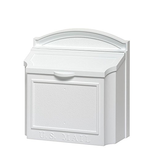 (Whitehall Products White Wall Mailbox)