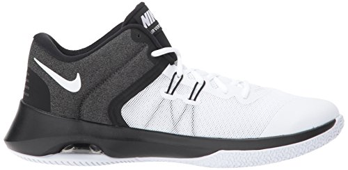 Black Versitile White II Shoe Basketball Air Nike Men's Hx8qw1AA