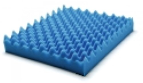 - Lumex 7-1630E Convoluted Foam Cushion, 18