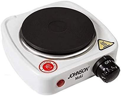 Hornillo eléctrico portátil con placa de 11 cm 500 W con ...