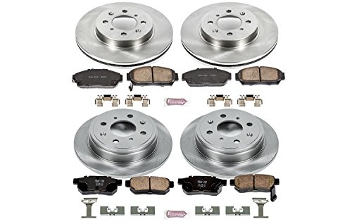(Autospecialty KOE693 1-Click OE Replacement Brake Kit)