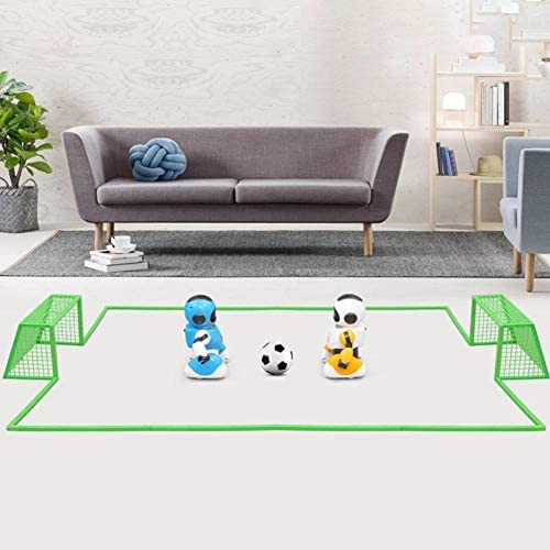 LUCYPAPASHOW Kinderspielzeug Smart USB-Aufladung Ferngesteuerter Fußball Interaktiver Roboter Eltern-Kind-Wettbewerb Tanzen Tanzen Programmierbares Roboter Spielzeug
