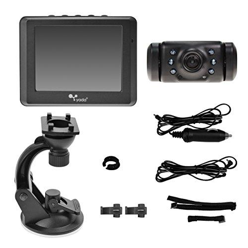 Yada (BT53872M-2) Matte Black Digital Wireless Backup Cam...