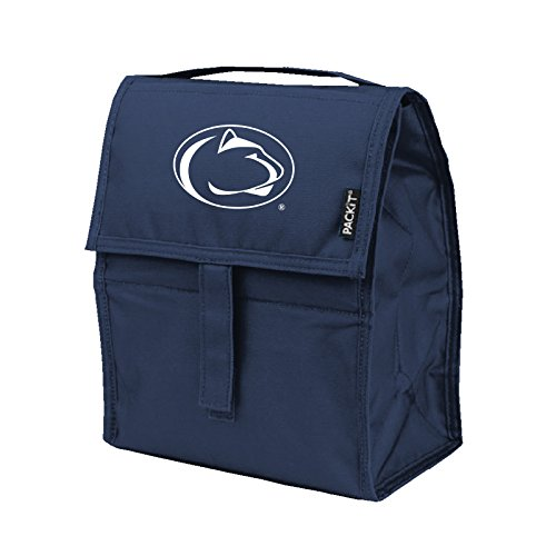Lunch Lions Box (Kolder NCAA Penn State Nittany Lions Packit Freezable Lunch Bag, Blue)