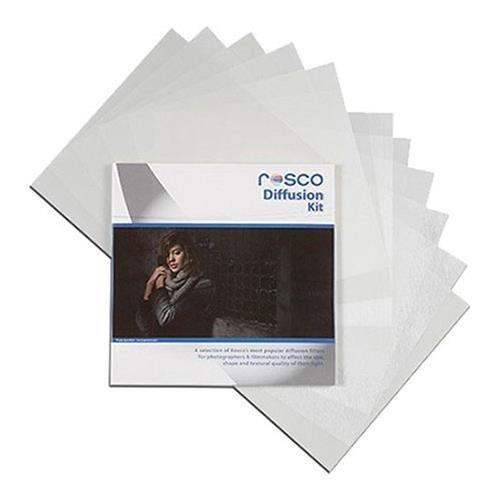Rosco Diffusion Filter Kit, 12 x 12'' Sheets by Rosco