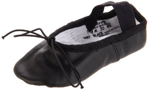 Capezio Daisy 205 Ballet Shoe (Toddler/Little Kid),Black,9.5 M US Toddler