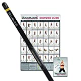 Bodyblade Classic with Wall Chart and Instructional Video, Black