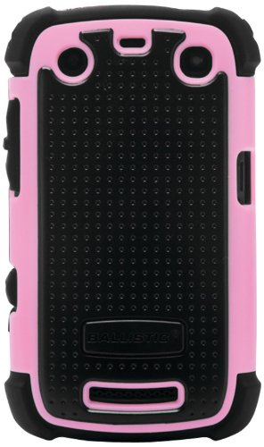 Ballistic SA0705-M365 Blackberry Curve 9350, 9360 and 9370 Sg Case - 1 Pack - Retail Packaging - Pink (Blackberry Curve 9360 Accessories)