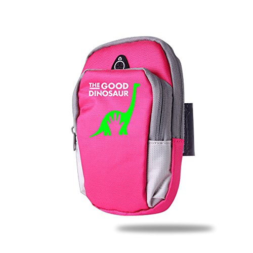 Mixiu The Good Dinosaur Sports Arm Bag Red