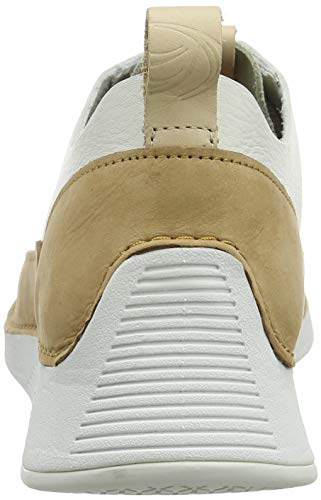 Femme Spark Basses Blanc Sneakers Tri Clarks White Leather IUqSW