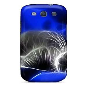 Dqf5369LjOn Richardcustom2008 Awesome Cases Covers Compatible With Galaxy S3 - 3d Kitty