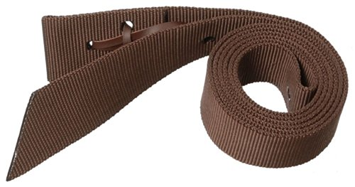 Tough 1 Royal King Nylon Web Tie Strap, Brown