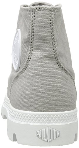 Palladium Unisex-erwachsene Blanc Hi Sneaker Grau (vapore / Bianco / Bianco)