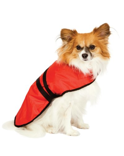Essential Blanket Dog Coat - Fashion Pet Essential Red Blanket Coat for Dogs - Extra Small