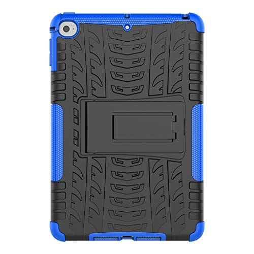 - AHAYAKU for iPad Mini 5 2019 Mini 4 7.9Inch Tablet Case Slim Stand Cover Hard Shell Blue