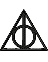 "H.Potter Deathly Hallows Sew/Iron-on Patch/Applique 2"" X 2.5"" InspireMe Family"