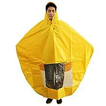 NAVA Yellow Rain Cape Mobility Scooter Cover Rainproof Coating Raincoat